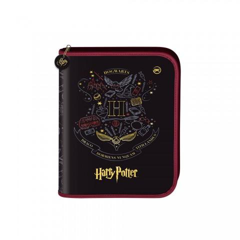 Fichário Mini 1/4 com Zíper Harry Potter + 48 Folhas - 3113