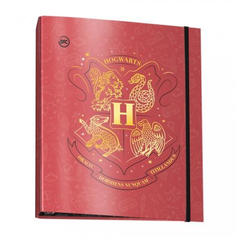 Fichário Universitário com Elástico Harry Potter + 48 Folhas - 3114