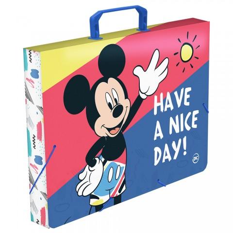 Maleta Ofício com elástico Mickey - 2826