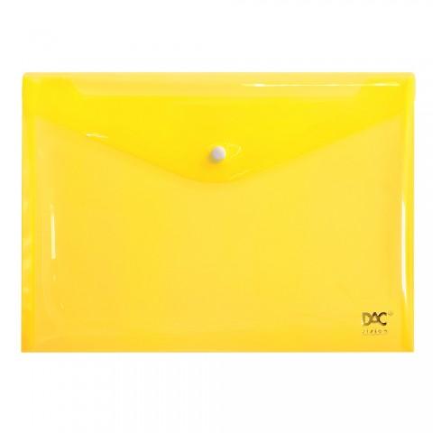 Malote A4 com Botão DAC Amarelo