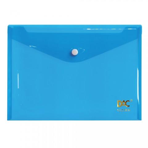 Malote A5 com Botão DAC Azul