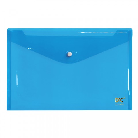 Malote Ofício com Botão DAC Azul