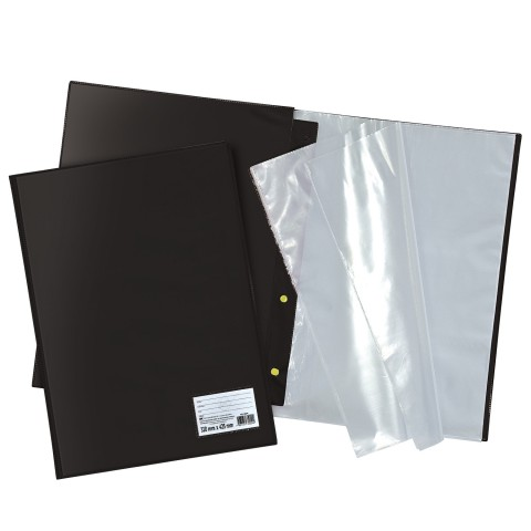 Pasta Catálogo A3 DAC Preta com 30 Envelopes Médios