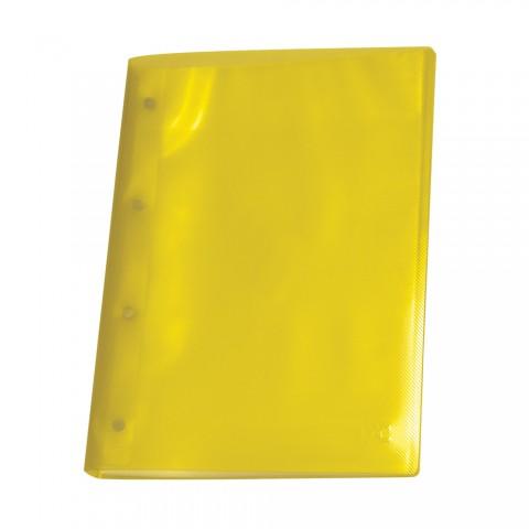 Pasta Catálogo A4 DAC Amarela Line com 10 Envelopes Médios