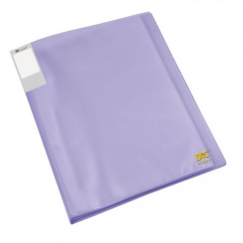 Pasta Catálogo A4 DAC Lilás Translúcida com 20 Envelopes Finos