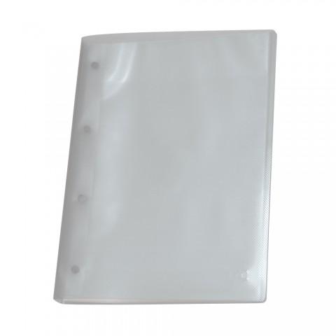 Pasta Catálogo A4 DAC Transparente Line com 10 Envelopes Médios