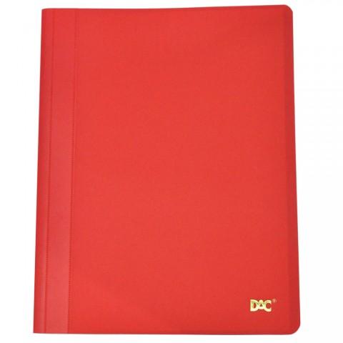 Pasta Catálogo A4 Vermelho Fosca com 10 envelopes