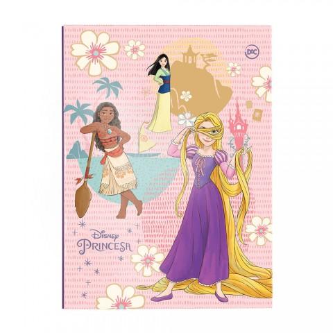 Pasta Catálogo Ofício com Lombo Ajustável Disney Princesa + 10 Envelopes - 3266