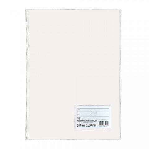 Pasta Catálogo Ofício DAC Branca com 50 Envelopes Finos