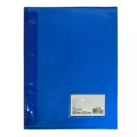 Pasta Catálogo Ofício DAC Diamante Azul com 10 Envelopes grossos