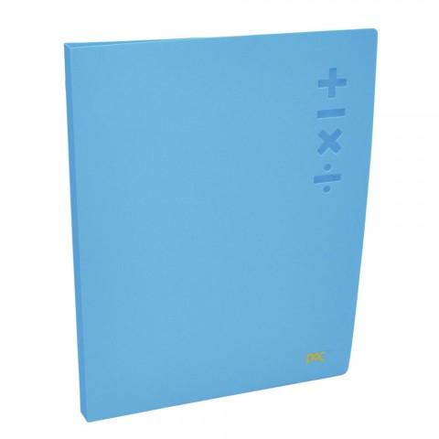 Pasta com Prendedor Clip File A4 DAC Azul