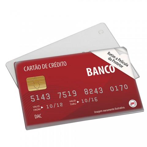 Protetor Rígido para CPF, Cartões de Banco, Transporte e Planos de Saúde