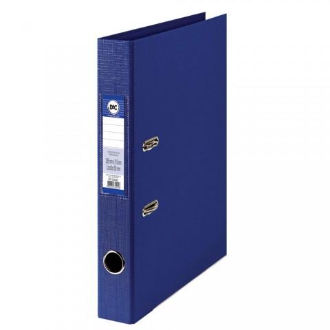Registrador AZ com lombo 5 cm DAC Percalux Azul