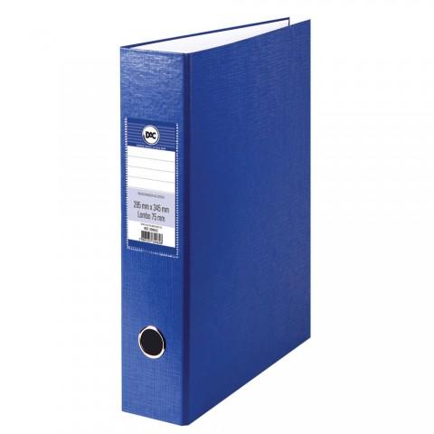 Registrador AZ com lombo 7,5 cm DAC Azul