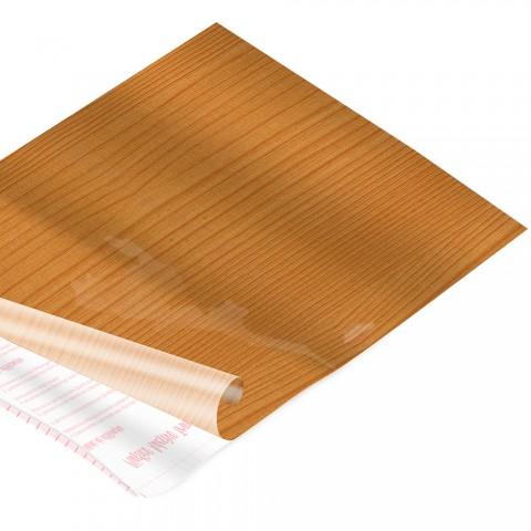 Rolo de Plástico Adesivo Madeira Caramelo DAC 45 cm x 2 mt - 171209