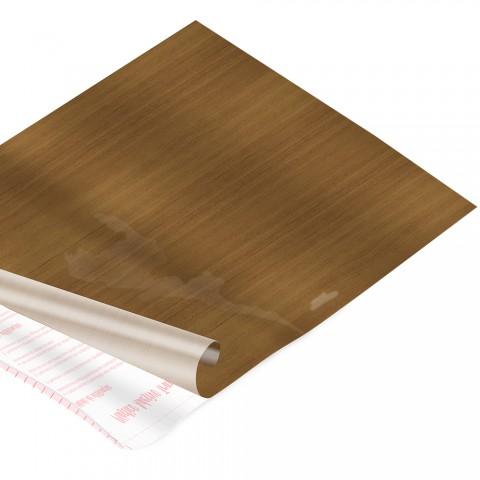 Rolo de Plástico Adesivo Madeira Natural DAC 45 cm x 2 mt - 171210