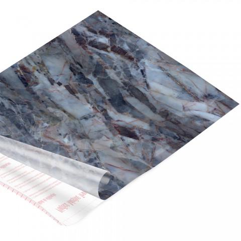 Rolo de Plástico Adesivo Pedra DAC 45 cm x 2 mt - 171204