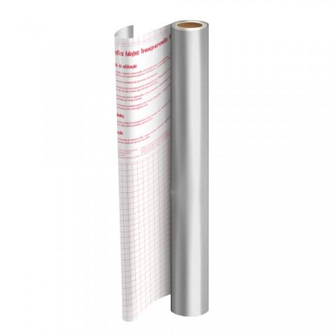 Rolo de Plástico Adesivo Prata DAC 45 cm x 2 mt - 1750PT