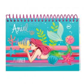 Planner Permanente Princesa Ariel com Espiral - 3066