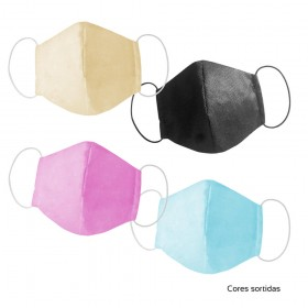 Máscara Protetora Reutilizável com Dupla Camada - 3161
