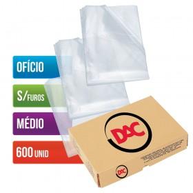 Envelope Plástico DAC Ofício com espessura Médio e sem Furos - 600 unid