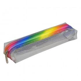 Estojo Escolar DAC em PVC Cristal Disco - E218TR