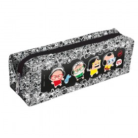 Estojo escolar DAC em PVC Cristal Mônica Toy
