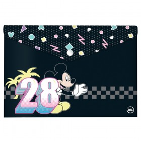 Malote A4 com Botão Mickey - 2833