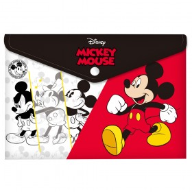 Malote A4 com Botão Mickey