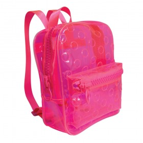 Mochila em Cristal Translúcido Rosa DAC Color Bubble - 3386RS