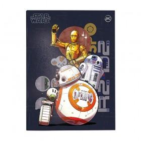 Pasta Catálogo Ofício com Lombo Ajustável Star Wars + 10 Envelopes - 3340