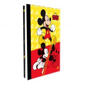 Pasta Catálogo Ofício Lombo Ajustável Mickey com 10 Envelopes Médios