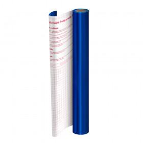 Rolo de Plástico Adesivo Azul Metalizado DAC 45 cm x 10 mt - 1751AZ