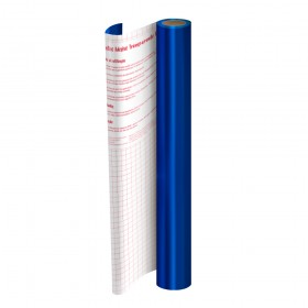 Rolo de Plástico Adesivo Azul Metalizado DAC 45 cm x 2 mt - 1750AZ