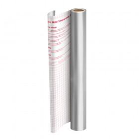Rolo de Plástico Adesivo Prata DAC 45 cm x 10 mt - 1751PT