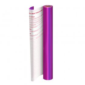 Rolo de Plástico Adesivo Roxo Metalizado DAC 45 cm x 2 mt - 1750RX