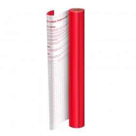 Rolo de Plástico Adesivo Vermelho Metalizado DAC 45 cm x 2 mt - 1750VM
